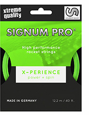 naciąg tenisowy jednolity signumpro x-perience - co-polyester